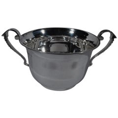 Traditional English Sterling Silver Two-Handled Cup