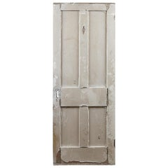 Traditional Four Panel Interior Door, 20th Century