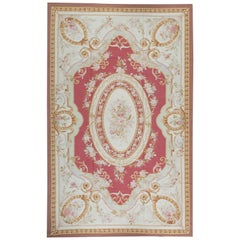 17th Century Traditional French Aubusson Style Flat-Weave