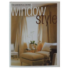 """""""Traditional Home Window Style"""" Decorative Book"""