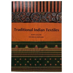 Traditional Indian Textiles Paperback Decorative Book