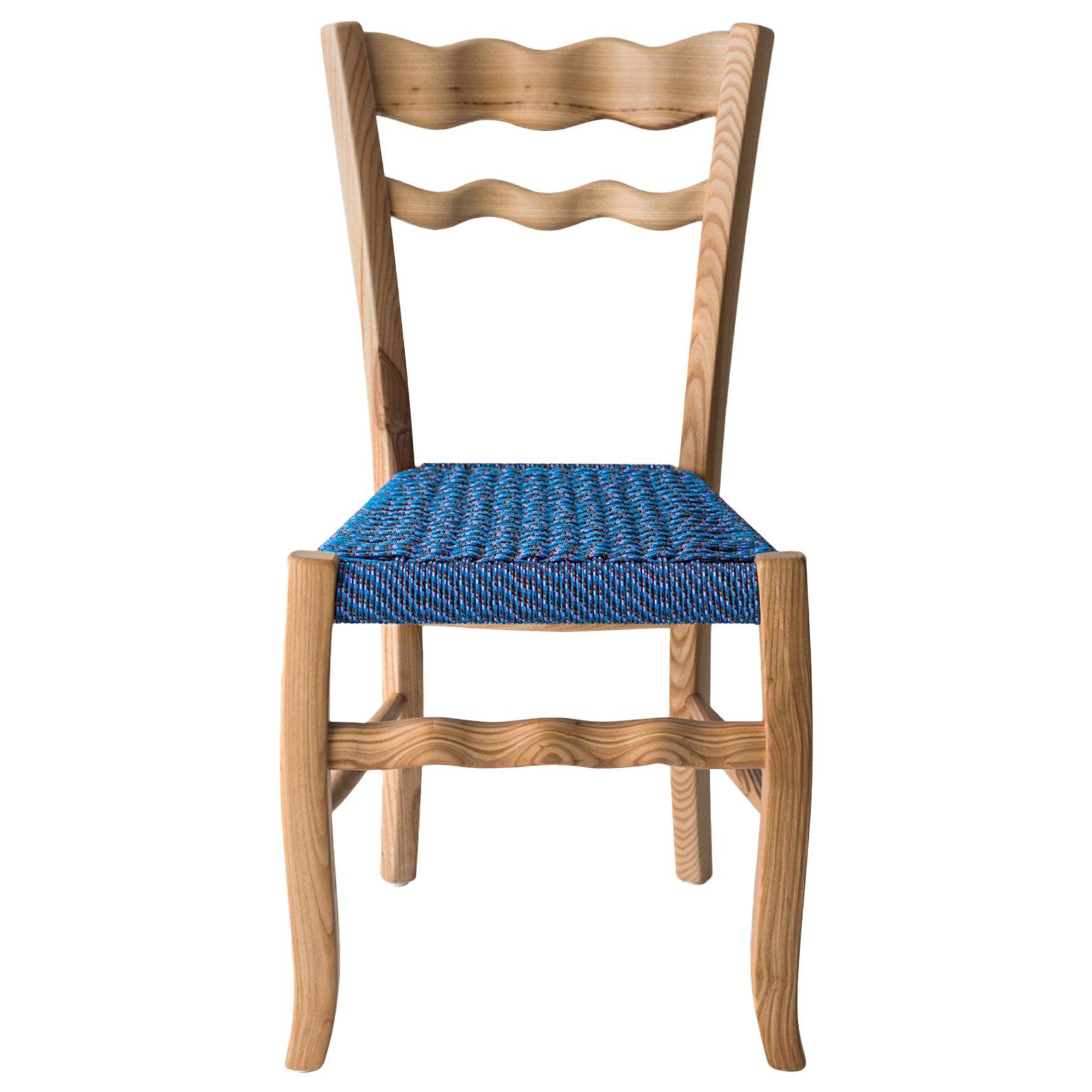 "Traditional Italian Wooden Chair ""A signurina Marzamemi"""
