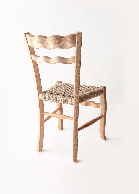 Mid-Century Modern Traditional Italian Wooden Chair