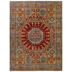 Traditional Mamluk Design Area Rug