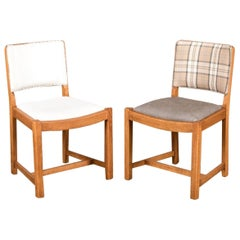 Traditional Oak Pub Style Dining Chair, 20th Century