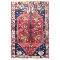 Traditional Oriental Carpet Handwoven Tribal Rug
