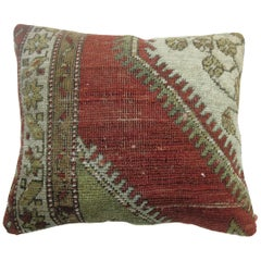 Traditional Oushak Rug Pillow