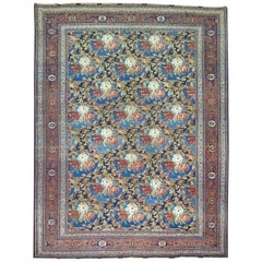 Traditional Persian Bidjar Floral Rug