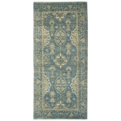 Traditional Rug, Carpet Runner of Rug Area, Afghan Rug, Green Runner Rug