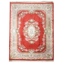 Traditional Rug Handmade Chinese Carpet Area Rug, Red Carpet Living Room Rugs