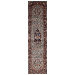 Traditional Rugs, Carpet Runners of Rugs Area, Indian Rugs, Blue Runner Rug