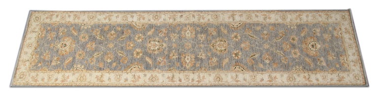 These new traditional handwoven runner rugs come from rug world in a striking colour combination of navy, light blue, green-blue, and cream carpet. The pattern depicted on these natural fibre rugs has traditional rugs style and have influenced by