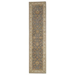 Traditional Runner Rug Carpet Runner of Rug Area Blue Afghan Rug
