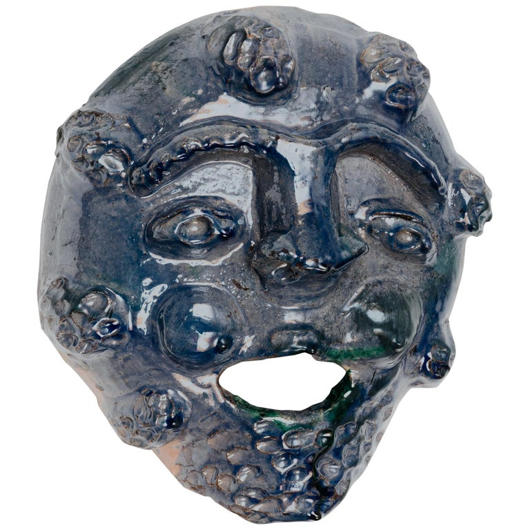 Traditional, Seminara Ceramic Mask For Sale
