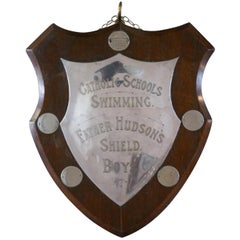 Traditional Shield Swimming Trophy