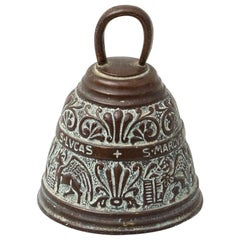 Traditional Spanish Rustic Bronze Bell, circa 1880