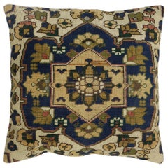 Traditional Square Turkish Rug Pillow