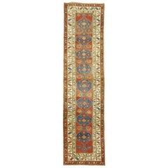 Traditional Tribal Red Blue Northwest Persian Runner