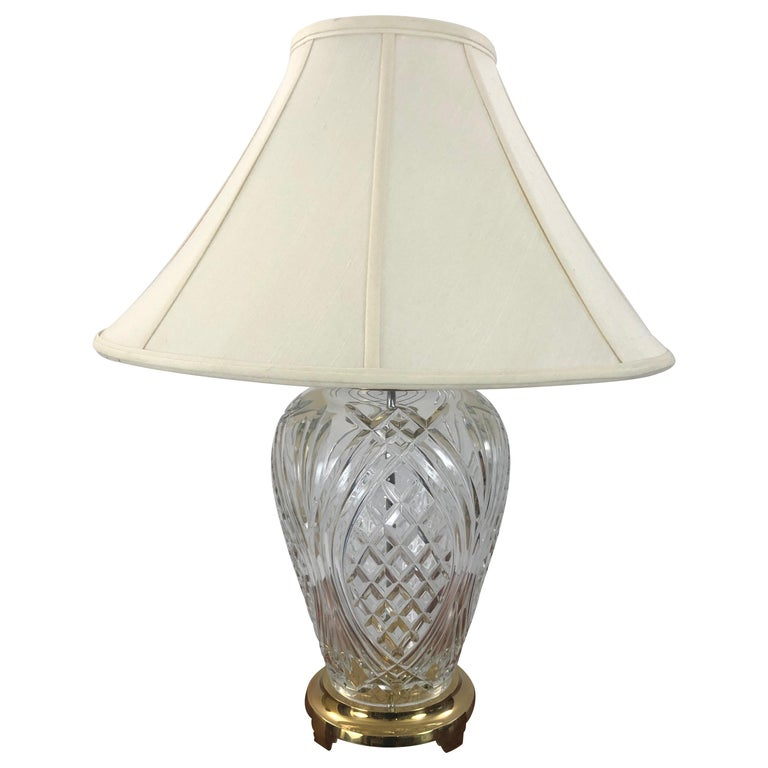 Traditional Waterford Crystal Pineapple, Waterford Crystal Lamp Patterns