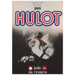 Traffic 1974 Czech A3 Film Poster