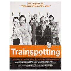 'Trainspotting' 1996 French Moyenne Film Poster