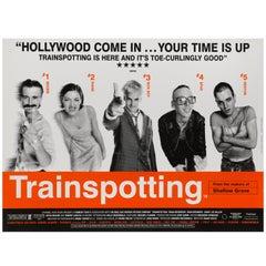 """Trainspotting"" British Film Poster"