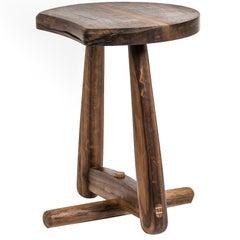 Trampoli Stool, Brazilian Wood