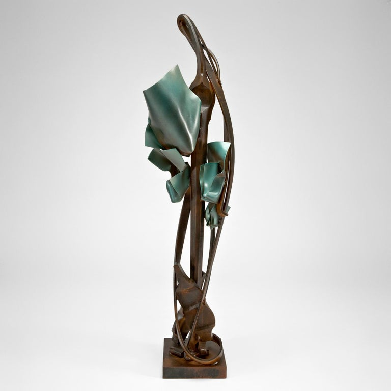 American Craftsman Transient Reference Sculpture by Albert Paley For Sale