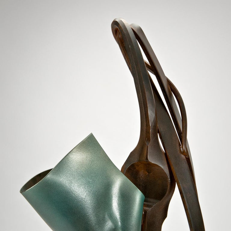 Transient Reference Sculpture by Albert Paley In Excellent Condition For Sale In Denton, MD