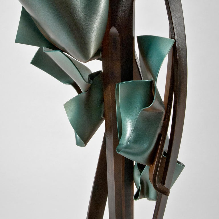 Steel Transient Reference Sculpture by Albert Paley For Sale
