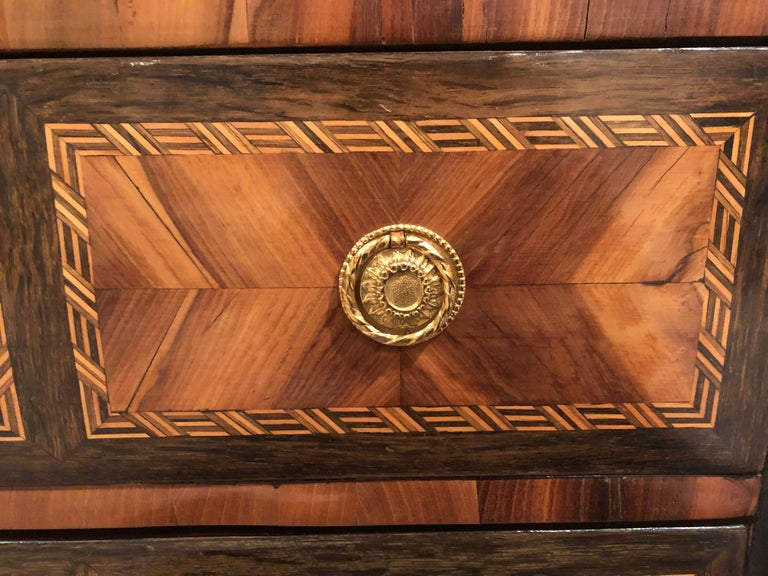 Louis XVI Transition Chest of Drawers, France, 1780 For Sale