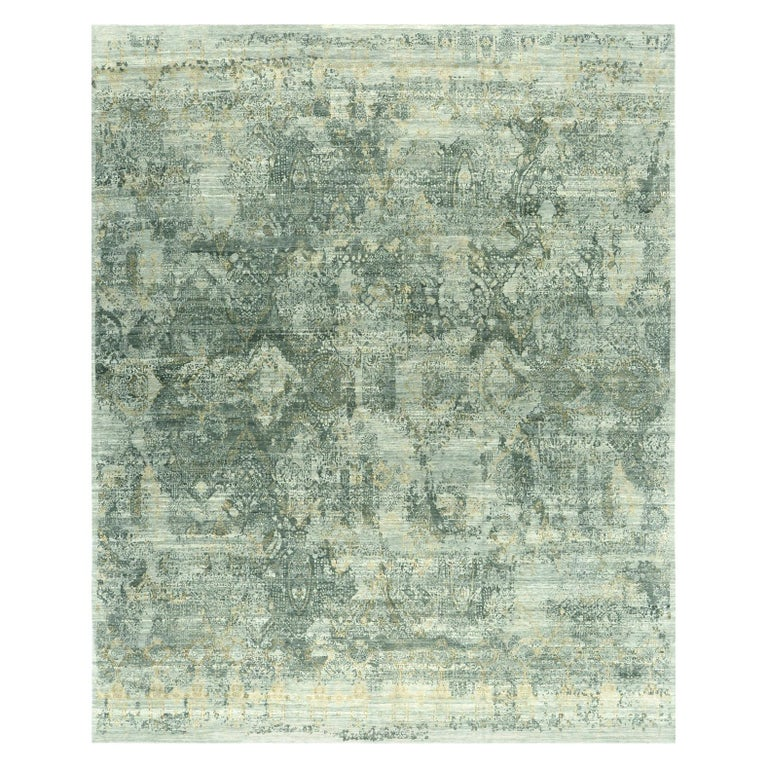 Transitional Design Rug Allure Fiore by Mehraban Rugs For Sale