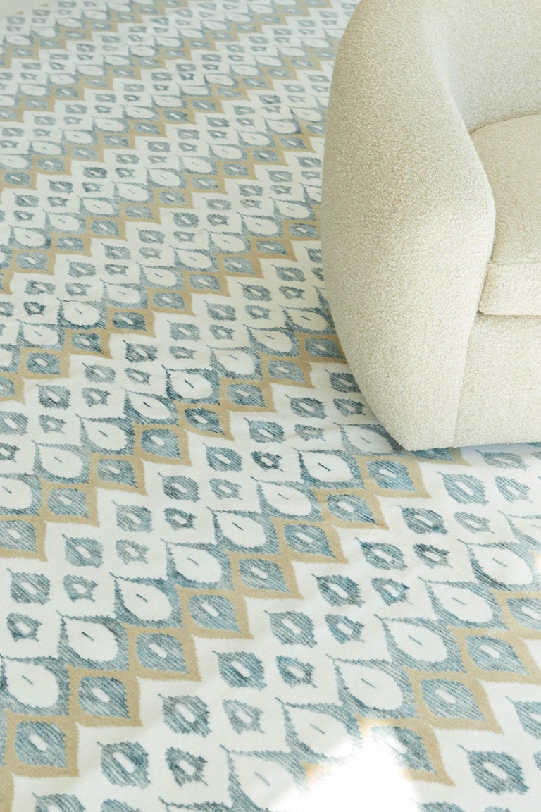 Transitional Design Rug Candela Design In New Condition For Sale In WEST HOLLYWOOD, CA