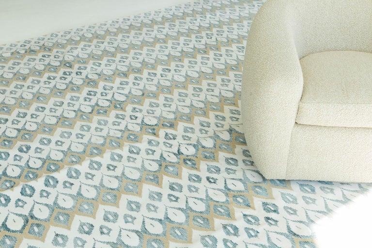 Contemporary Transitional Design Rug Candela Design For Sale