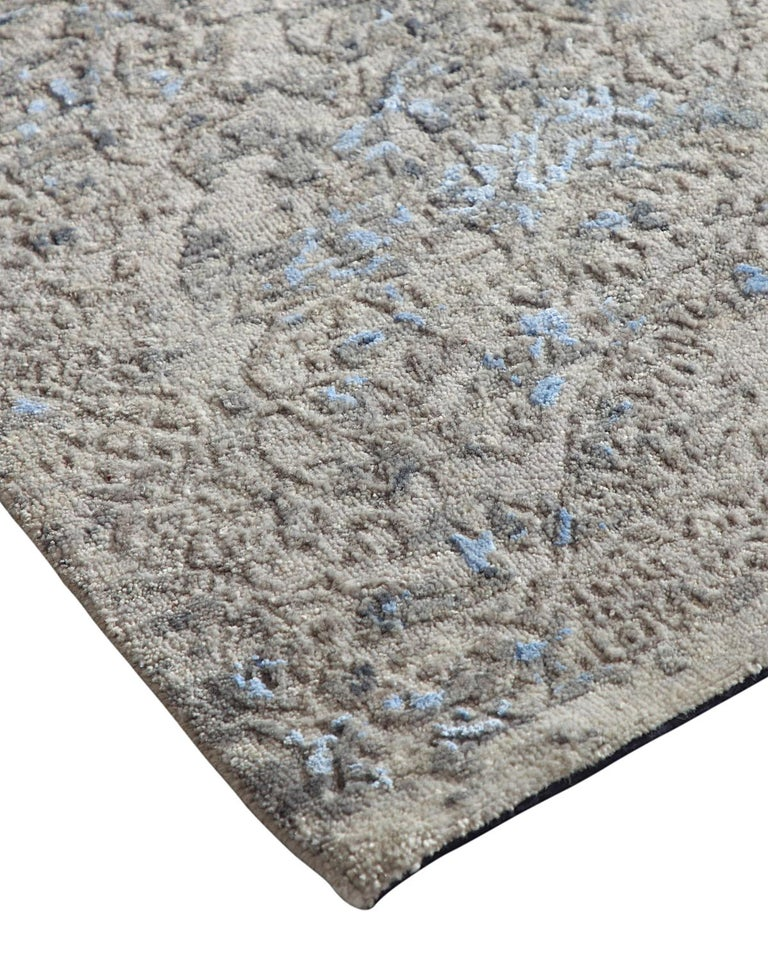 Using vintage-inspired designs and contemporary, neutral color stories and distressed detailing, the Jankat Collection offers classic elegance with a modern twist. Effortless, chic, and functional, this rug is perfect for adding a glamorous touch to