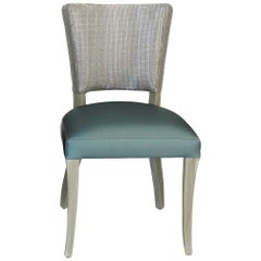 Transitional Open Back Dining Chair 'Customizable'