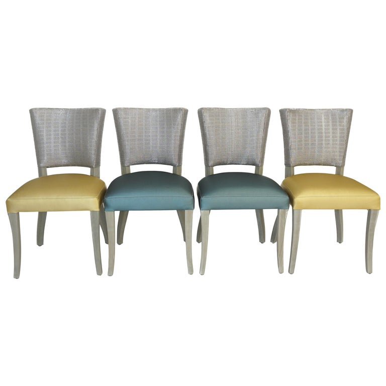 Transitional Open Back Dining Chair For Sale At 1stdibs