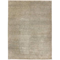 New Transitional Area Rug with Neutral Color Palette and Modern Style