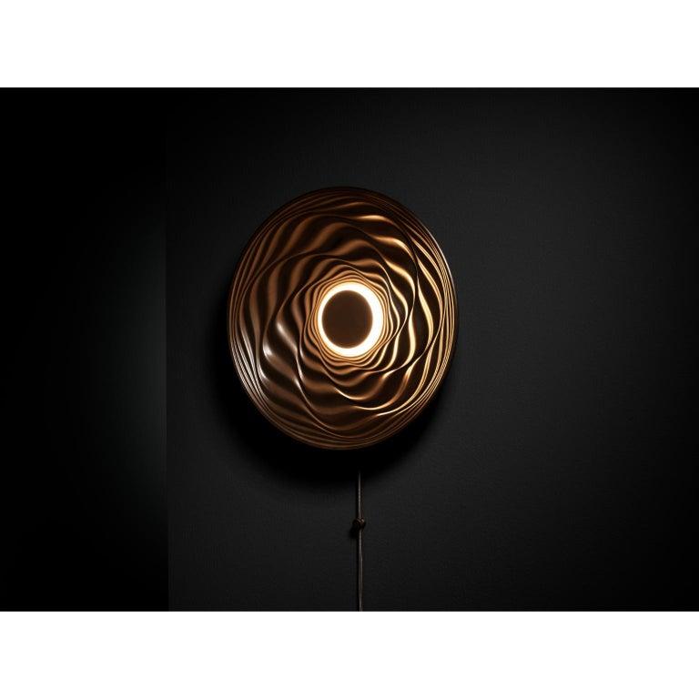 Other Transmission Bronze Sculpture by David Tragen For Sale