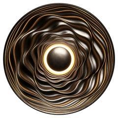 Transmission Bronze Sculpture by David Tragen