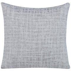 Transmit Pillow in Light Gray by Curatedkravet