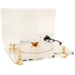 Transrotor Classic Gold Record Player, 1980