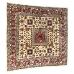 Transylvanian Square Persian Design Rug