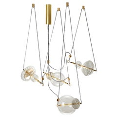 Trapezi 4-Lights Chandelier