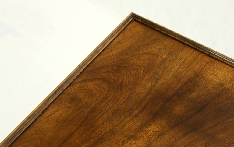 20th Century Trapezoid Side End Table by Baker For Sale