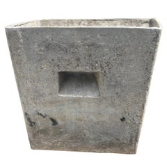 Trapezoid Willy Guhl Planter, two available