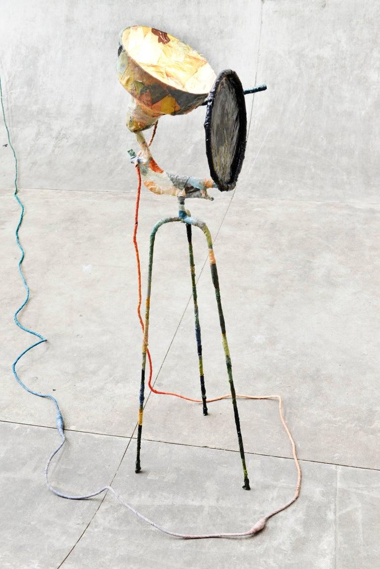 Trash Light Floor Lamp by Pepe Heykoop For Sale 2