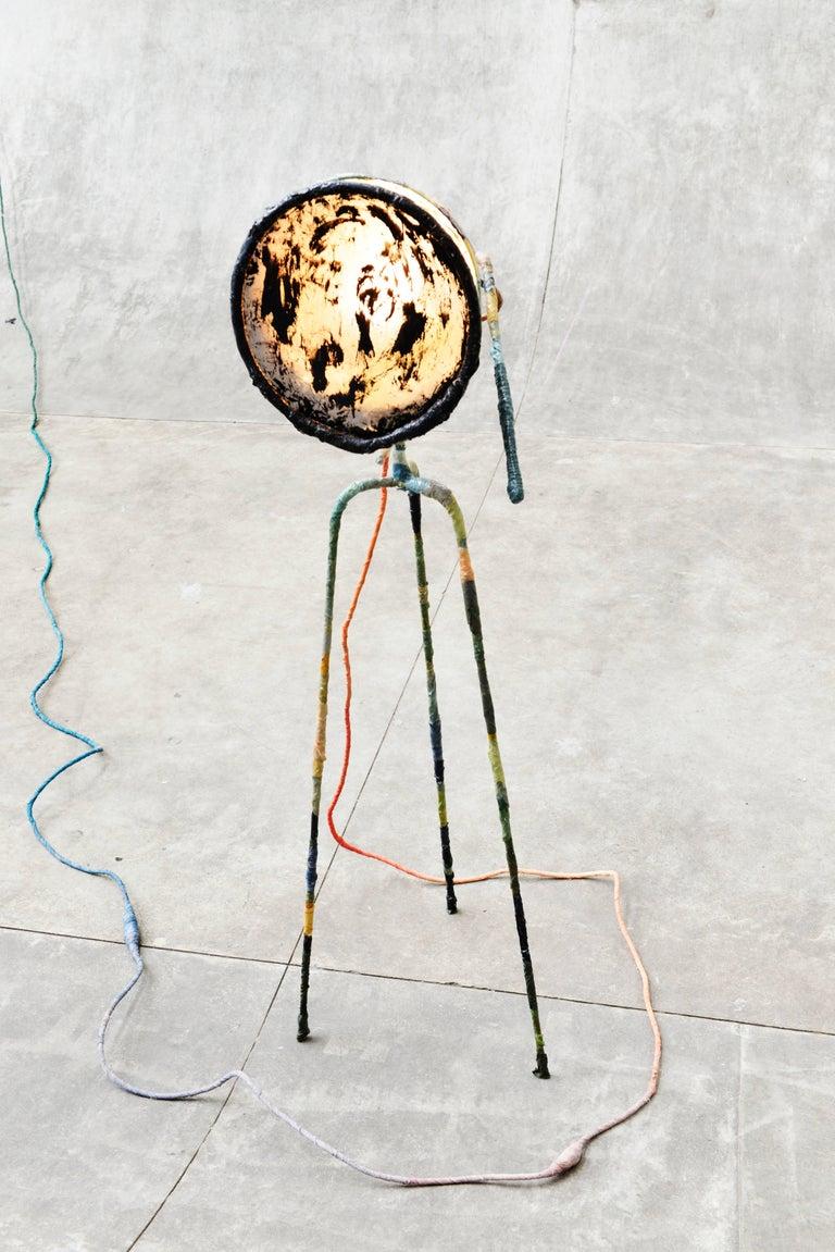 Trash Light Floor Lamp by Pepe Heykoop For Sale 4