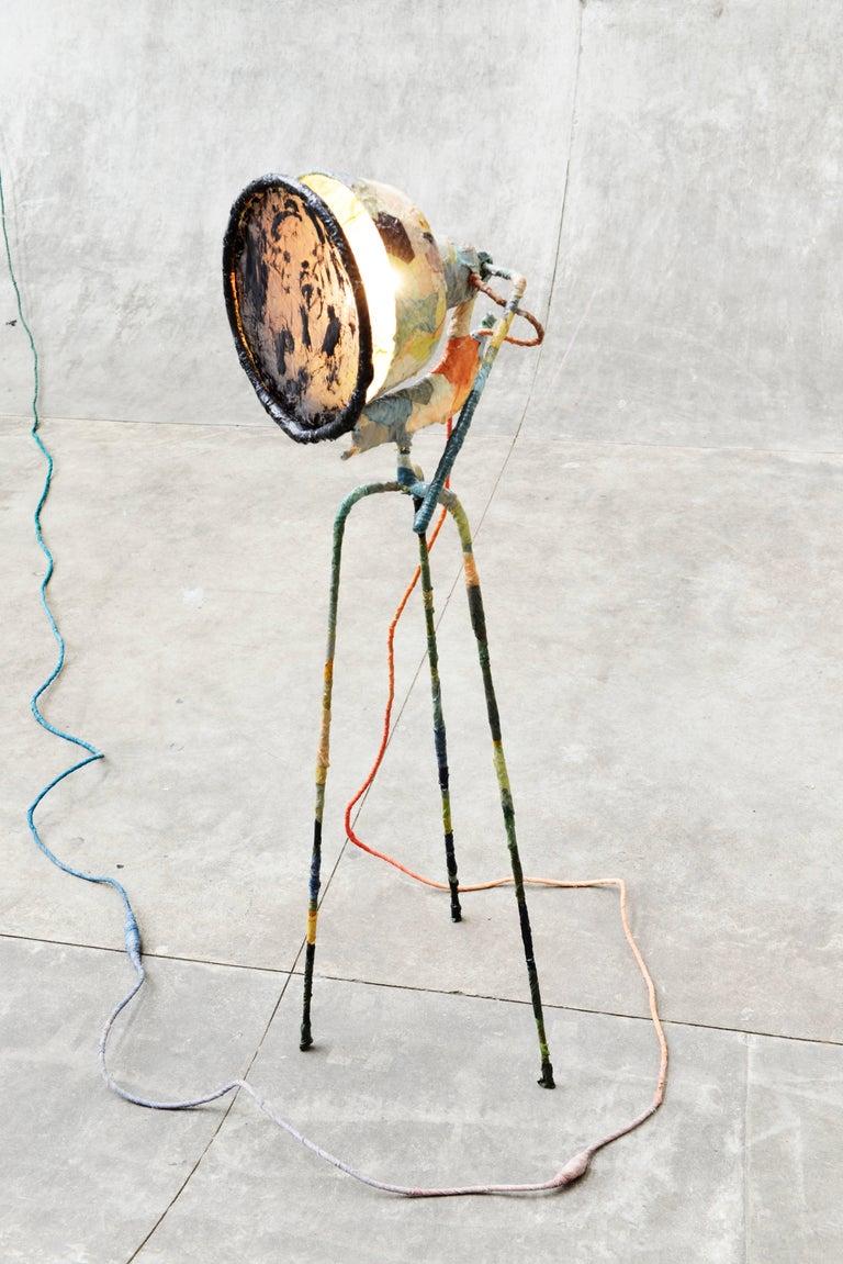 Trash Light Floor Lamp by Pepe Heykoop For Sale 5