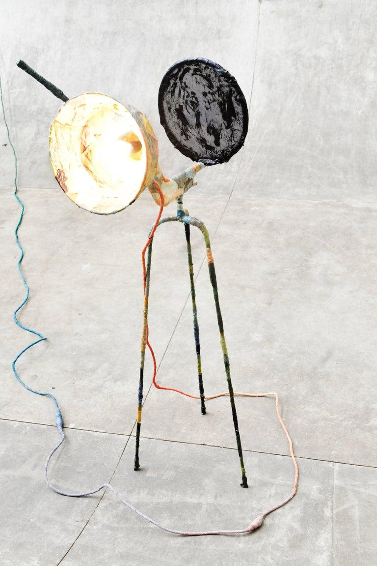 Contemporary Trash Light Floor Lamp by Pepe Heykoop For Sale